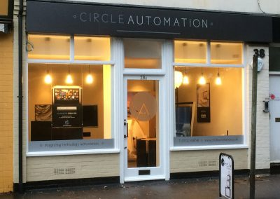 Circle Automation Sign