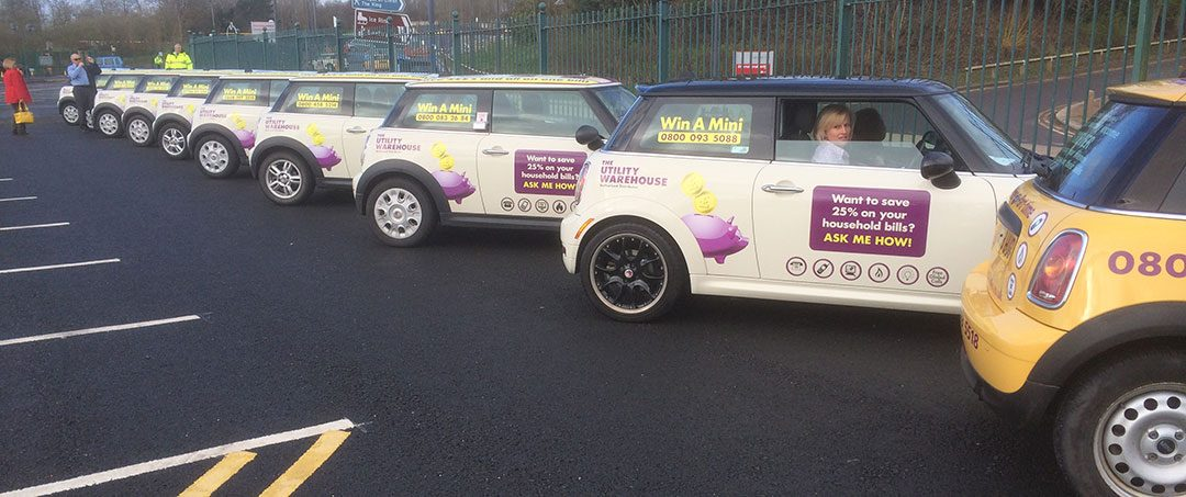 Utility Warehouse Mini Graphics