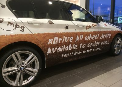 BMW Vehicle Graphics Project